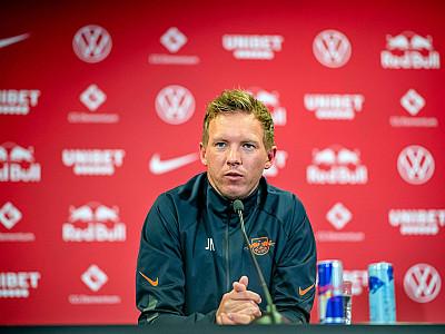 Konferencja prasowa przed meczem z Eintrachtem Frankfurt