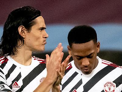 Manchester United przeciwko RB Lipsk bez Cavaniego i Martiala?