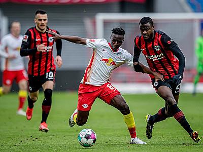 Remis z Eintrachtem