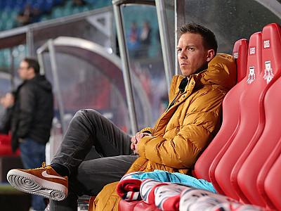 Konferencja prasowa przed meczem z Bayernem